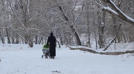 Taking the stroller
