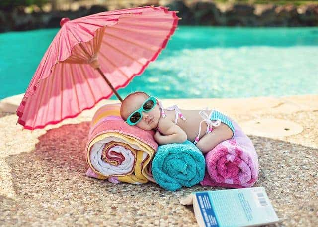 Summer to do list with your baby