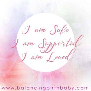 I am Safe I am Supported I am Loved